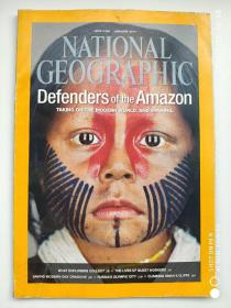 NATIONAL GEOGRAPHIC 美国国家地理杂志 英文版 2014年1月
