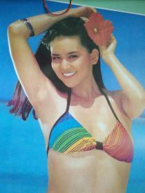 挂历1993年海之恋泳装美女