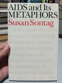 1989年,英文原版,精装带书衣,初版本,艾滋病及其隐喻,AIDS and its metaphors