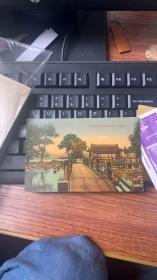 杭州西湖老明信片