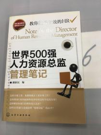世界500强人力资源总监管理笔记。。。