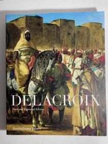 德拉克洛瓦画册 Delacroix外文图册