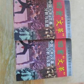 """回首""""文革""""中国十年文革分析与反思上下册(内页干净未)"""