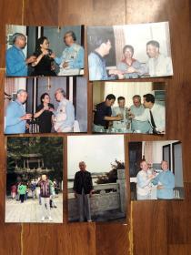 【老照片】著名摄影家方幸根摄照片7张 聚餐照片、虎跑泉留影等