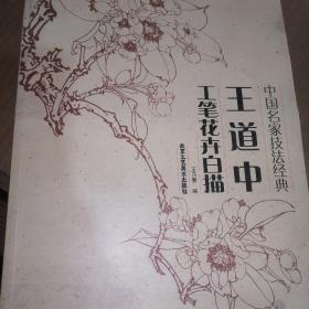 中国名家技法经典:王道中工笔花卉白描