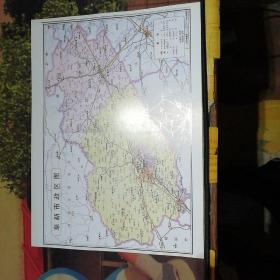 阜新市政区图