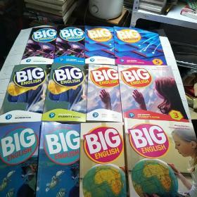 培生朗文Big English 1-6少儿英语(课本+练习册 ) (STUDENTS BOOK+ WORKBOOK)12册合售(平装 16开 详情看图)