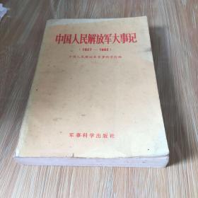 中国人民解放军大事记