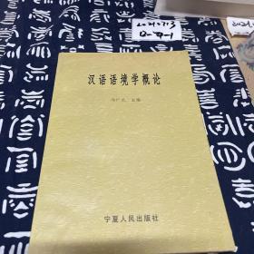 汉语语境学概论