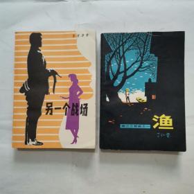 """另一个战场,渔""""嫩江三部曲之一""""(关于地下党斗争的小说,2册合售)"""