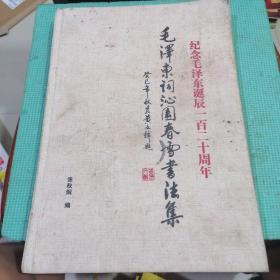 毛泽东词沁园春雪书法集
