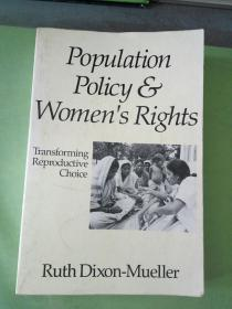 Population Policy Women's Rights(英文原版)