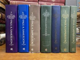 The Collected Scientific Papers Of Paul A. Samuelson   7卷全  品相好