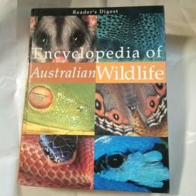 Encyclopedia Of Australian Wildlife 澳大利亚野生动物百科全书