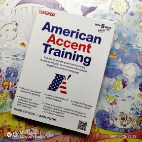 American Accent Training with 5 Audio CDs:3rd edition