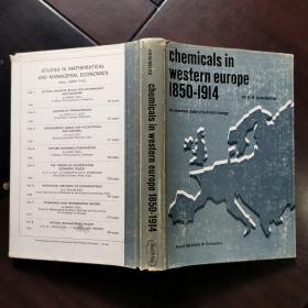 chemicals in Western Europe 1850-1914西欧的化学品—技术变革的经济学研究
