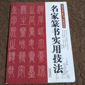 中国名家书法经典技法:名家篆书实用技法