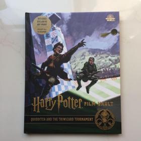 英文原版 Harry Potter: Film Vault Volume 7 哈利波特电影系列丛书第7卷 魁地奇与三强争夺战 电影制作背后的秘密