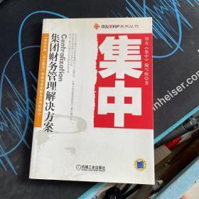 集中:集团财务管理解决方案/用友ERP系列丛书