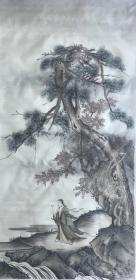 林蔚,可合影,四尺山水 仿古山水 绢布
