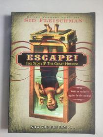 Escape!: The Story of the Great Houdini 英文原版 逃脱术 大16开