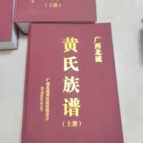 广西北流黄氏族谱 上中下 全套三册 广西北流