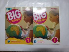 BlG ENGLlSH.1 2ND EDlTⅠON  (STUDENT'S  BOOK+WORK  BOOK)(2册合售)