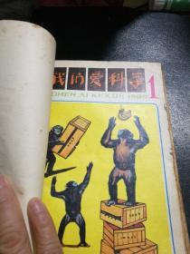 我们爱科学1980年(1一12期少第3期,11册合售)