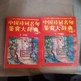 中国诗词名句鉴赏大辞典【上下】