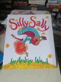 Silly Sally Board Book倒着走的女孩