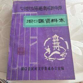 中国民间歌谣集成湖南卷洞口县资料本