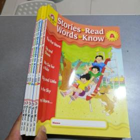 Stories to Read Words to Know: Level B, Student Book(A.B.C.D.E)共五本