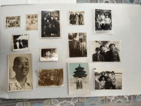 老红军武汉大学水利电力学院创建人首任院长张如屏及家人延安东北江西武汉老照片一组