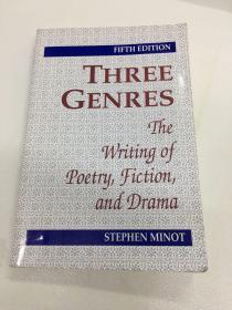 Three Genres: The Writing Of Literary Prose Poems And Plays 三种文体:文学散文诗与戏剧创作 英文原版