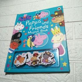 磁铁书 小猪佩奇和她的朋友们 Peppa Pig and Friends Magnet Book 英文原版绘本 粉红猪小妹 幼儿英语启蒙纸板亲子互动游戏书
