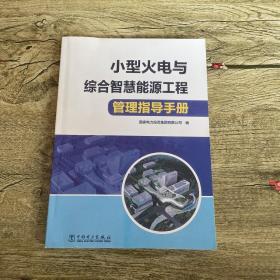 小型火电与综合智慧能源工程管理指导手册