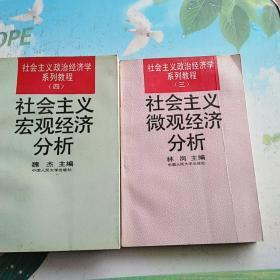 林岗主编,社会主义宏观经济分析+一本微观