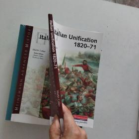 【外文原版】 Heinemann Advanced History: Italian Unification 1820-71 海因曼先进历史:意大利统一1820—71.