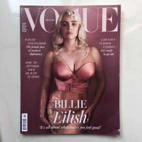 英文原版  VOGUE 英版 UK 2021年6月 英语杂志时尚杂志  英国版