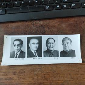 1993年,新当选的八届政协副主席:阿沛·阿旺晋美(西藏藏族)赛福鼎·艾则孜(新疆维族)洪学智、杨静仁