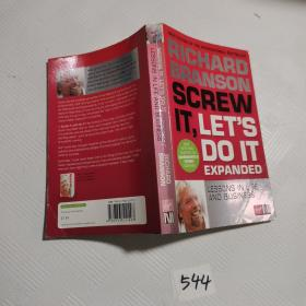 Screw It, Let's Do It:Lessons in Life and Business