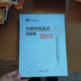 中国死因监测数据集. 2013  实物拍图 现货 无勾画