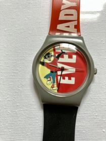 九十年代卡通手表 日本制表 老物件 形似swatch 闲置一块卡通手表 日本进口 卡通毛图案, 表带橡胶质量一般,介意的话可以自行配置。感兴趣的朋友可以私信。