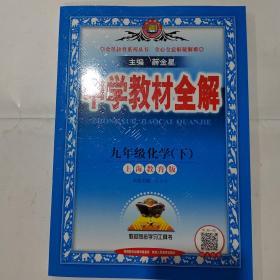 中学教材全解 九年级化学下 上海教育版 22春