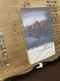 柯林斯经典:瓦尔登湖 英文原版 Walden and Civil Disobedience 梭罗