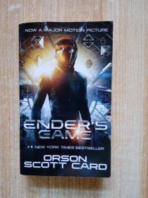Ender's Game (Ender's Saga, Book 1)安德系列1:安德的游戏 英文原版