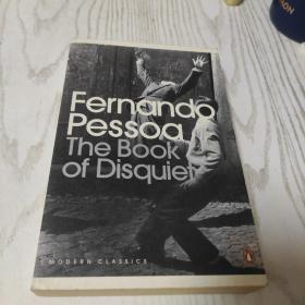 The Book of Disquiet 费尔南多佩索阿 惶然录 英文原版