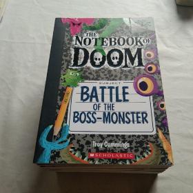 学乐Scholastic Branches系列 毁灭笔记13册 英文原版 The Notebook of Doom 5-9岁 怪物笔记 快乐幽默搞怪故事 学乐桥梁书