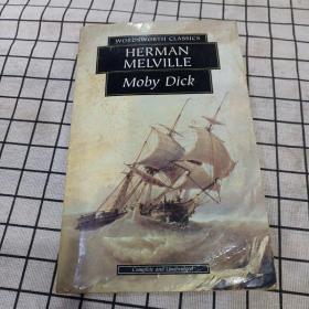Moby Dick 大白鲸 赫尔曼•梅尔维尔 经典英文原版