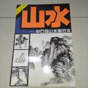 美术技法名师指导实战系列:申石伽山水画范本